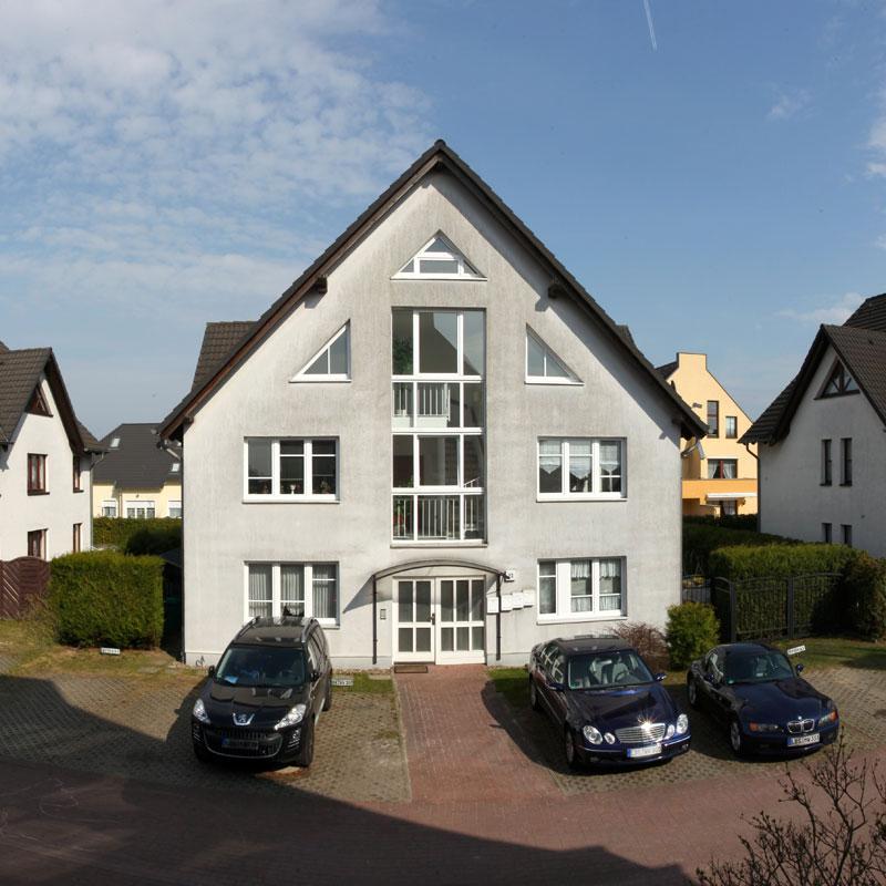 Ferienwohnung Schönefeld, ansicht von außen.